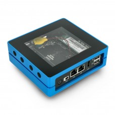 Odyssey Blue J4105, Intel Celeron J4105 + ATSAMD21 8GB RAM + 128GB SSD WiFi + Bluetooth + dėklas, Seeedstudio 110991412