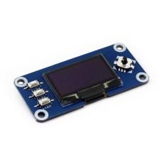 "OLED 1.3"" 128x64px modulis, skirtas Raspberry Pi 4/3+/3/2/Zero, Waveshare 13890"
