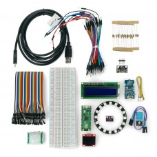 Ready to Go with Raspberry Pi Pico, set of 13 modules, sample programs + board