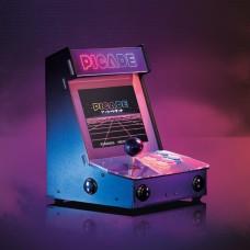Picade Arcade Machine, retro machine with 8'' display, overlay + accessories for Raspberry Pi 4B/3B+/3B/2B/Zero