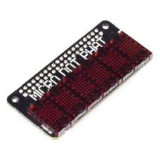 PiMoroni Micro Dot pHAT, 6 LED matrix 5x7, HAT for Raspberry Pi, red