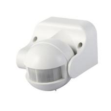 PIR judesio detektorius ST09 220-240V - sieninis sukamasis baltas