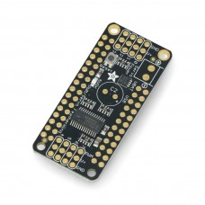 PWM motor and servo controller, I2C 8-channel, PCA9685, overlay for Feather, Adafruit 2928
