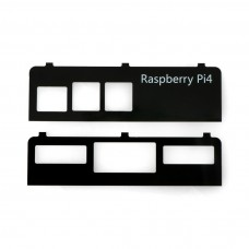 Side panels for Raspberry Pi 4B to re_case, Seeedstudio 110991407