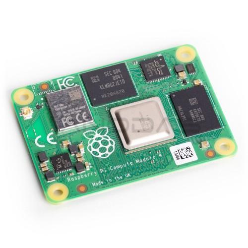 Raspberry Pi CM4, skaičiavimo modulis 4, 4GB RAM + 8GB eMMC + WiFi/Bluetooth