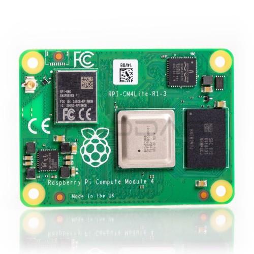 Raspberry Pi CM4 Lite 4 skaičiavimo modulis - 1 GB RAM + WiFi / Bluetooth