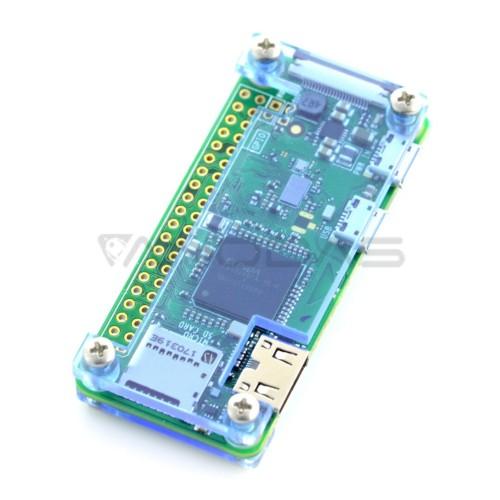 Raspberry Pi Zero dėklas, Fluo Open, mėlynas