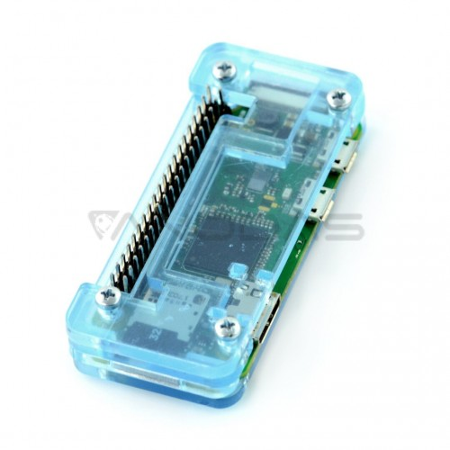 Raspberry Pi Zero Fluo dėklas, mėlynas