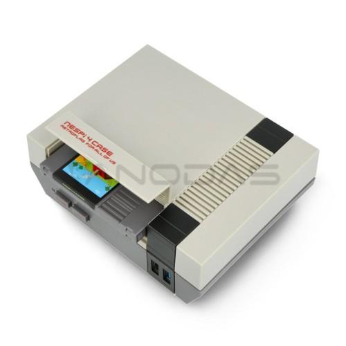 RetroFlag NESPi 4 dėklas, skirtas Raspberry Pi modeliui 4B