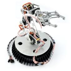 Roboto ranka Dagu RA001, 6 servo + valdiklis