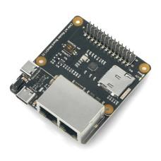 Router Carrier Board Mini, IoT mini išplėtimo plokštė, skirta Raspberry Pi Compute 4 moduliui, DFRobot DFR0767