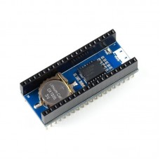 RTC DS3231 module, real-time clock, I2C, for Raspberry Pi Pico, Waveshare 19426