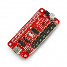 Servo pHAT, 16-channel PWM I2C driver for Raspberry Pi, SparkFun DEV-15316