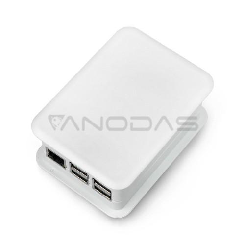 TEKO dėklas, skirtas Raspberry Pi modeliui 3/2/B+ su GPIO Hat, šviesiai pilkas