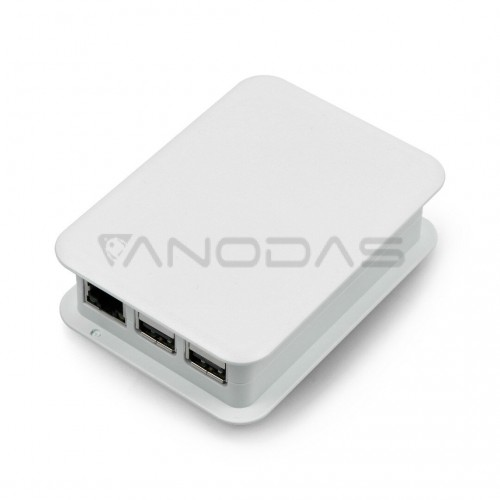 Dėklas skirtas TEKO Raspberry Pi Model 3B+/3B/2B, šviesiai pilkas