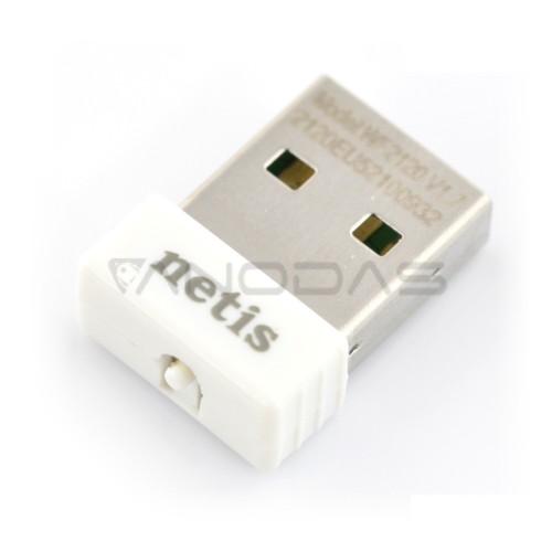 Tinklo sąsajos adapteris WiFi USB N 150Mbps Netis WF2120, Raspberry Pi