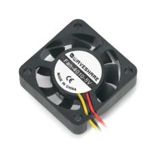 Nvidia Jetson Nano ventiliatorius, 40x40x10mm 5V, 3 laidų su apsauga nuo atbulinės eigos, Waveshare 16990