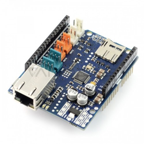 Arduino Ethernet Shield 2 with microSD reader