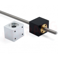 T8 Trapezoidal Lead Screw Nut Housing Bracket Silver