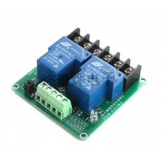 2-way 30A high and low level trigger relay module 5V smart home automation control