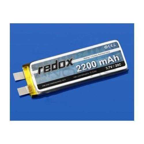 Akumuliatorius Li-Pol Redox 2200mAh 20C 1S 3.7V