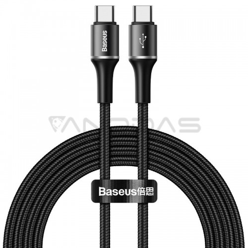 Baseus halo data cable Type-C PD2.0 60W 20V 3A 2m Black