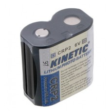 Lithium battery CRP2 6V Kinetic for photo cameras
