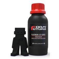 Resin for 3D printer FormFutura Platinum LCD Series 0.5kg - Solid Black