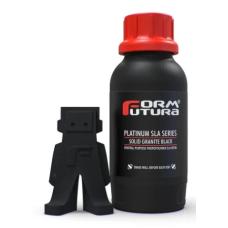Resin for 3D printer FormFutura Platinum SLA Series 0.5kg - Solid Granite Black