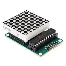 MAX7219 8x8 matricos modulis