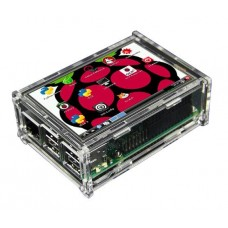 Raspberry Pi Case for 3.5inch LCD Display - Transparent