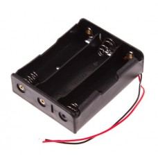 Battery holder 3x18650 with Lead Wire