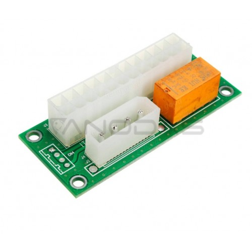Dual PSU Power Supply Sync - ATX 24Pin to Molex