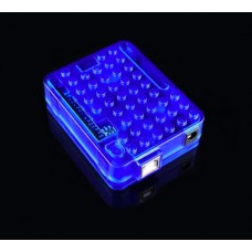 Arduino UNO R3 case - Blue clear