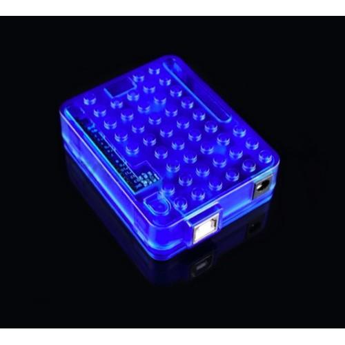 Arduino UNO R3 case - Blue clear