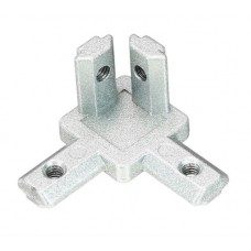 3 Way 90 Degree Inside Corner Connector Joint Bracket for 2020 Series Aluminum Profile