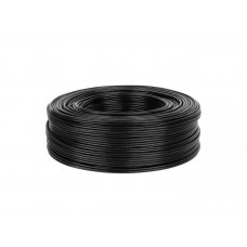 Cable 2 x RCA 4mm black 1m