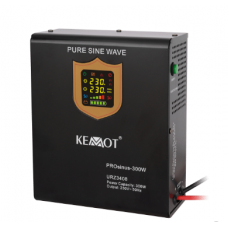 KEMOT PROsinus 300W emergency power source with pure sine wave inverter and charging function 12V 230V 500VA / 300W