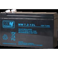 Švino akumuliatorius MW 7.2Ah 12V