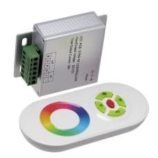 RGB juostos valdiklis 12-24V 216W / 432W baltas