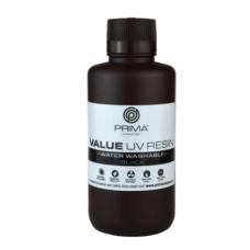 Resin for 3D printer - PrimaCreator Value Water Washable UV Resin 500 ml - Black