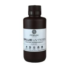 Resin for 3D printer - PrimaCreator Value Water Washable UV Resin 500 ml - Clear