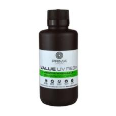 Resin for 3D printer - PrimaCreator Value Water Washable UV Resin 500ml - Transparent Green