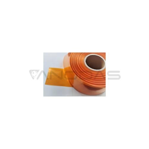 PVC Terminė plėvelė oranžinė 95 mm