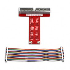 GPIO 40pin cable + adapter for breadboard