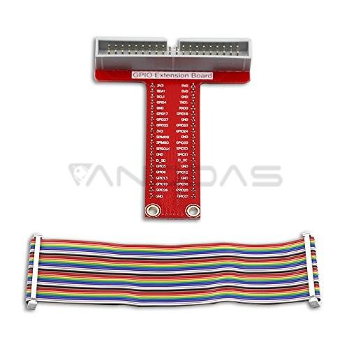 GPIO 40pin laidai + adapteris maketavimo plokštei