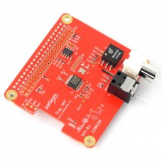 JustBoom Digi Hat - sound card for Raspberry Pi 4/3/2/B+
