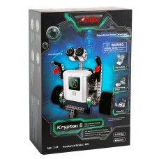 Abilix Krypton 0 - edukacinis robotas STEM - 72MHz / 409 blokų skirtų 17 projektų konstravimui