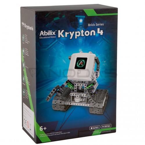 Abilix Krypton 4 - edukacinis robotas STEM - 1.3GHz / 426 blokai 29 projektų konstravimui