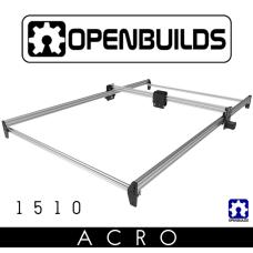 OpenBuilds ACRO System rėmas 1500x1000mm - sidabrinis